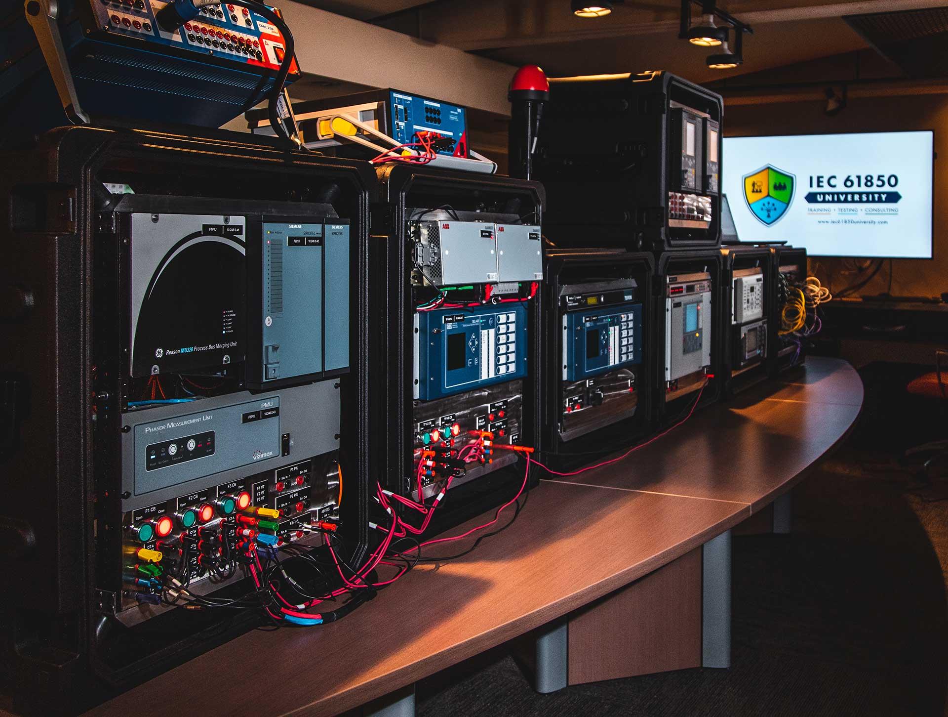 IEC 61850 University - Mobile Digital Substation